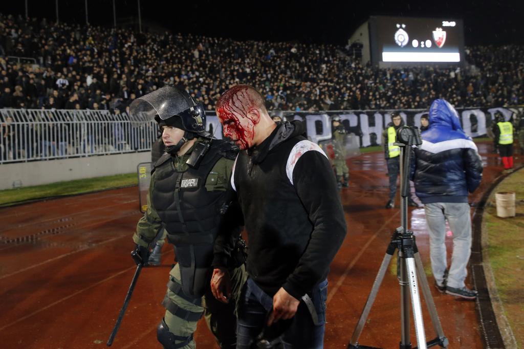 PEDJA MILOSAVLJEVIC / AFP