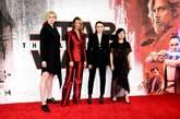 Gwendoline Christie, Laura Dern, Daisy Ridley y Kelly Marie Tran, en...