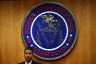 El presidente de la FCC, Ajit Pai.