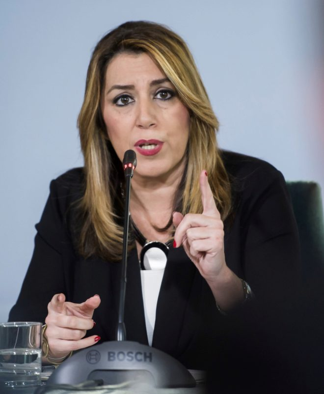 Susana Díaz se resiste a perder su pulso al Estado por las 35 horas