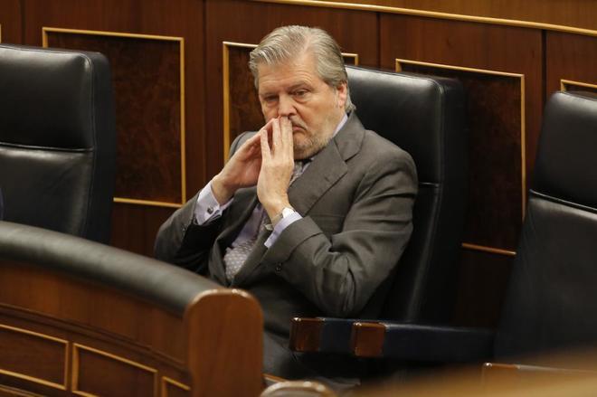 El ministro de Educación, Íñigo Méndez de Vigo, en el Congreso de...