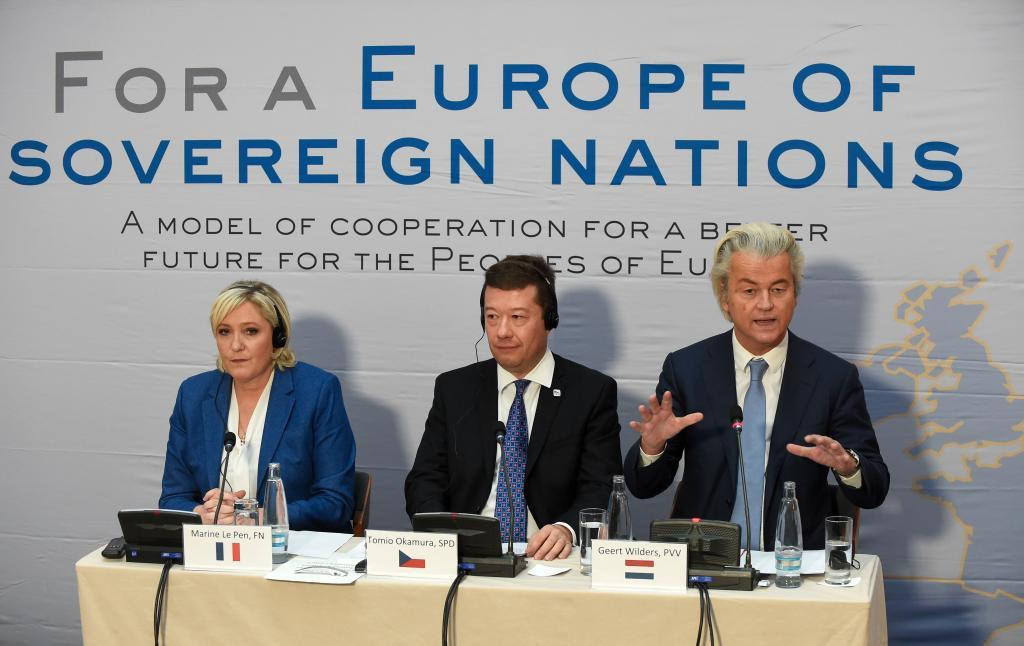 Los líderes de la ultraderecha quieren el fin de la UE, a la que acusan de todos los males