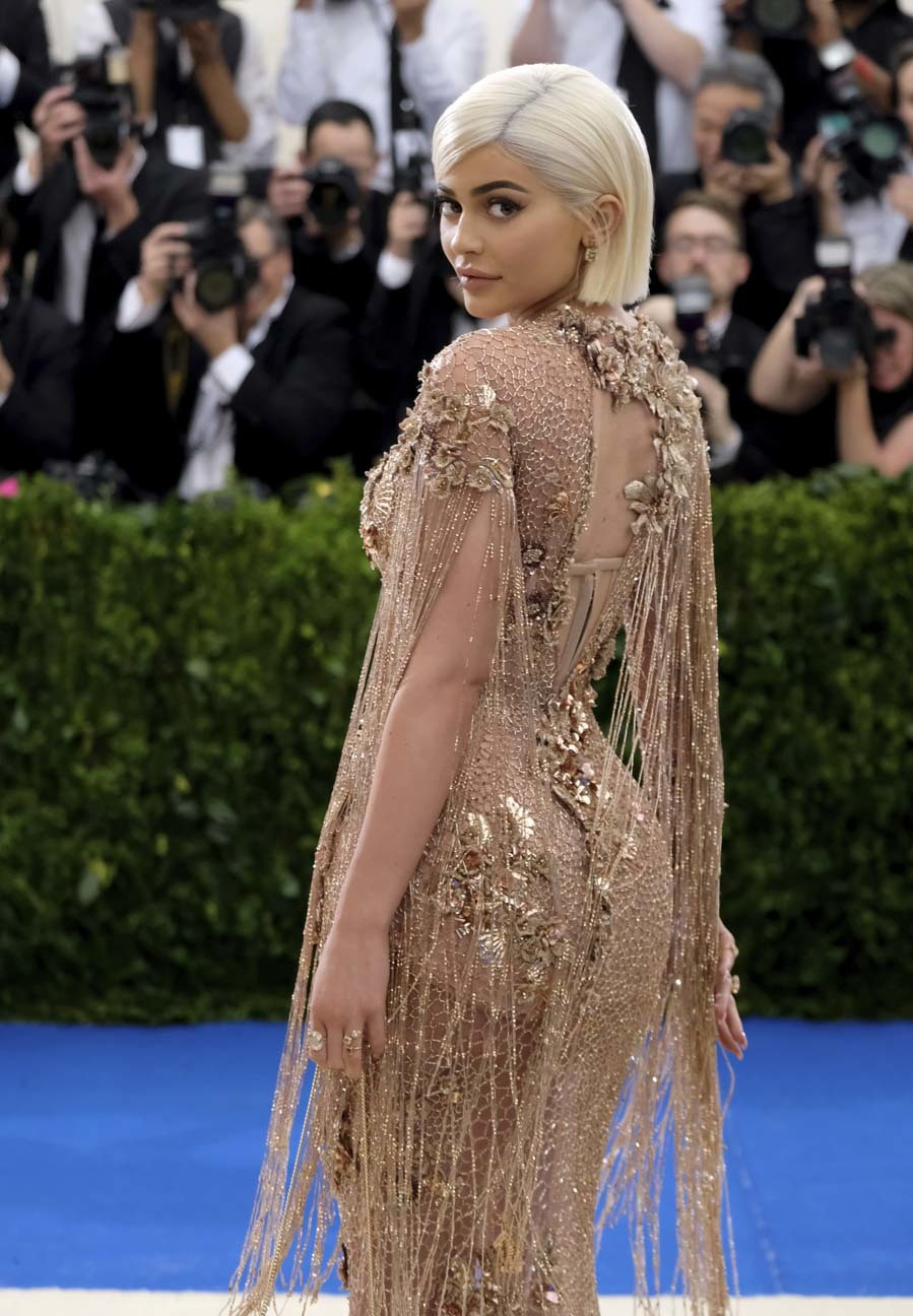 Kylie Jenner - Famosas que serán madres en 2018
