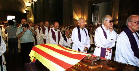 Funeral por el obispo de Solsona, Antoni Deig. MIGUEL LUX