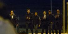 Salida de prisión de los ex consejeros de la Generalitat el pasado 4...