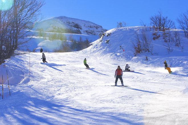 Fuentes de Invierno abre este año el 60 por ciento del dominio disponible para esquiar.