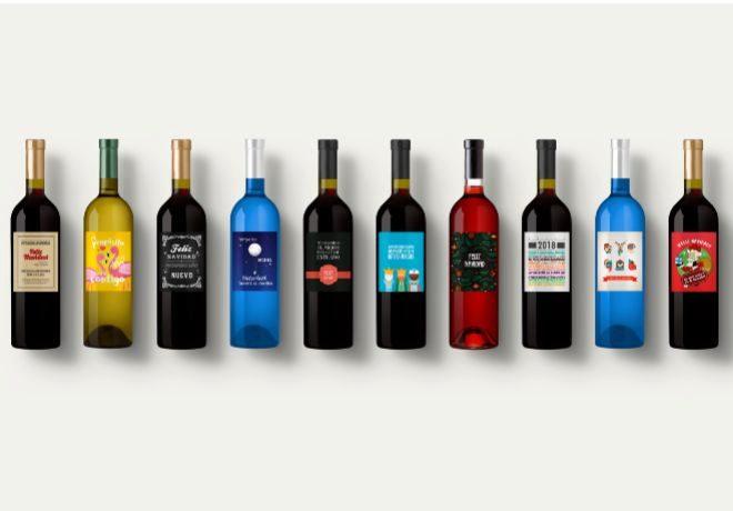 Etiqueta Tu Vino ofrece varias referencias de vino con botellas...