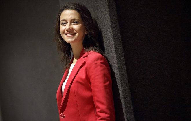 La candidata de Ciudadanos a la Generalitat, Inés Arrimadas