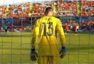 David de Gea, durante un partido de Premier con el United.