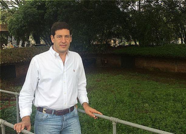 Alfonso Otoya en los corrales de Cañaveralejo