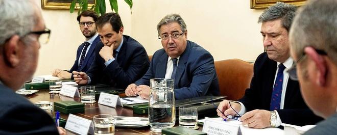El ministro del Interior, José Ignacio Zoido