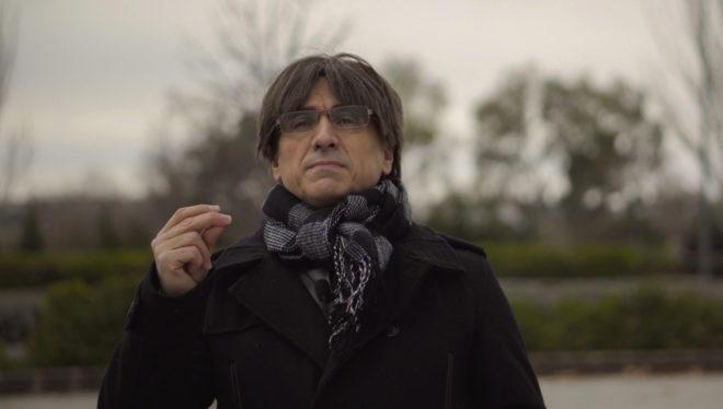 La imitación de Carles Puigdemont, de JxCat, una de las últimas grabaciones de este especial de Nochevieja.