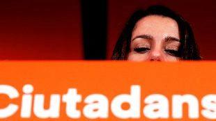 La candidata de Ciudadanos a presidir la Generalitat, Inés Arrimadas