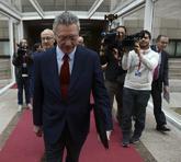 Alberto Ruiz-Gallardón, en la Asamblea de Madrid hace dos semanas.