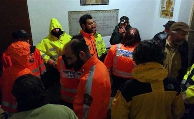El equipo de búsqueda estaba formado por más de 20 personas.