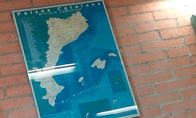 ADOCTRINAMIENTO EN UN COLEGIO DE CASTELLON: SUSTITUYEN LA COMUNIDAD VALENCIANA POR LOS ' PAISES CATALANES'
