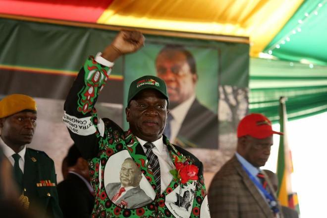 El presidente de Zimbabue, Mnangagwa, puso fin en noviembre a 37 años de Gobierno de Mugabe.