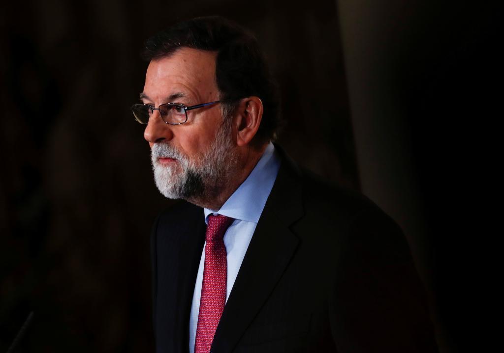 El presidente del Gobierno, Mariano Rajoy, este viernes en La Moncloa.