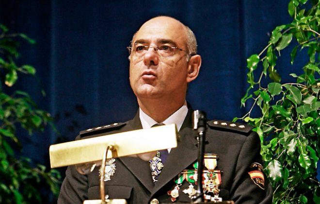 Enrique Barón, durante su etapa como jefe superior de la Policía de...