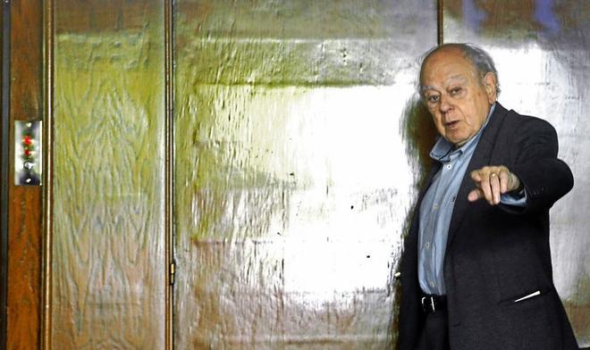 El ex presidente de la Generalitat, Jordi Pujol