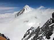 El monte Everest, en el Himalaya.
