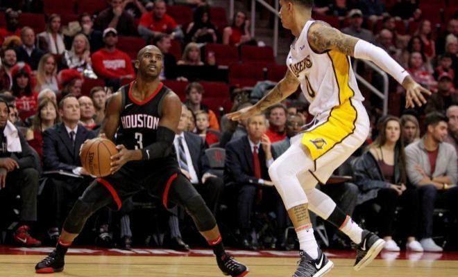 Paul, tras la lesión de Harden, decide para los Rockets tras dos prórrogas y 290 puntos de festival anotador