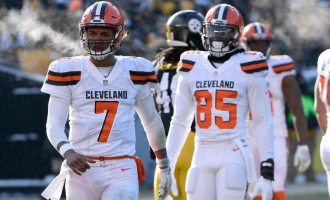 Los Browns igualan el peor récord de la NFL y su técnico puede terminar en las aguas heladas del Erie