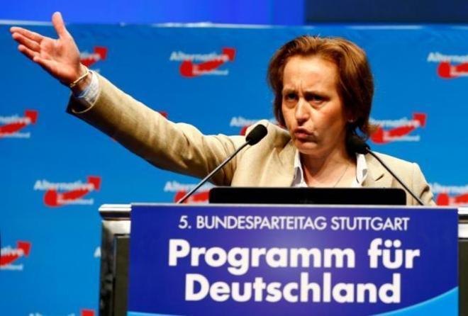 La policía alemana denuncia a la vicepresidenta de la ultraderechista AfD por islamofobia