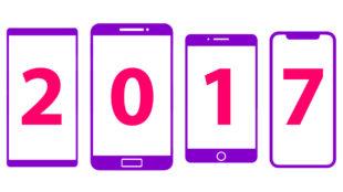 Los teléfonos móviles más destacados de 2017
