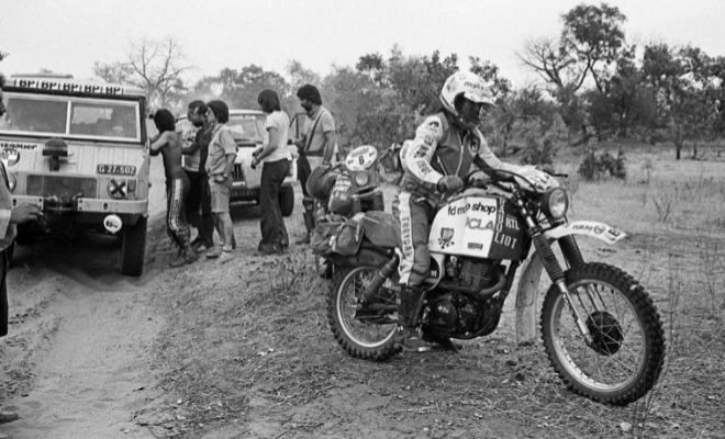 Los primeros recuerdos del Dakar: