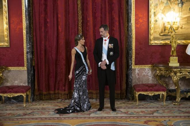 Los Reyes de España Felipe VI y Doña Letizia