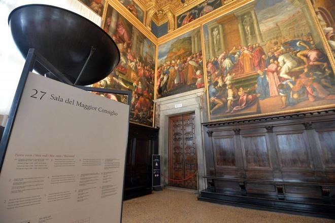 Audaz robo de joyas en el Palacio Ducal de Venecia