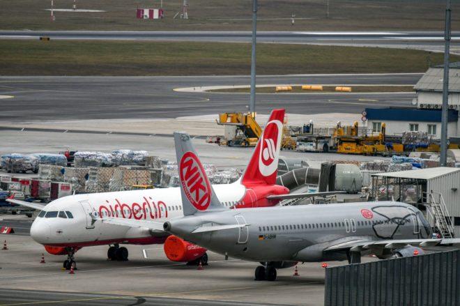 La quebrada Air Berlin subasta hasta los asientos de sus aviones