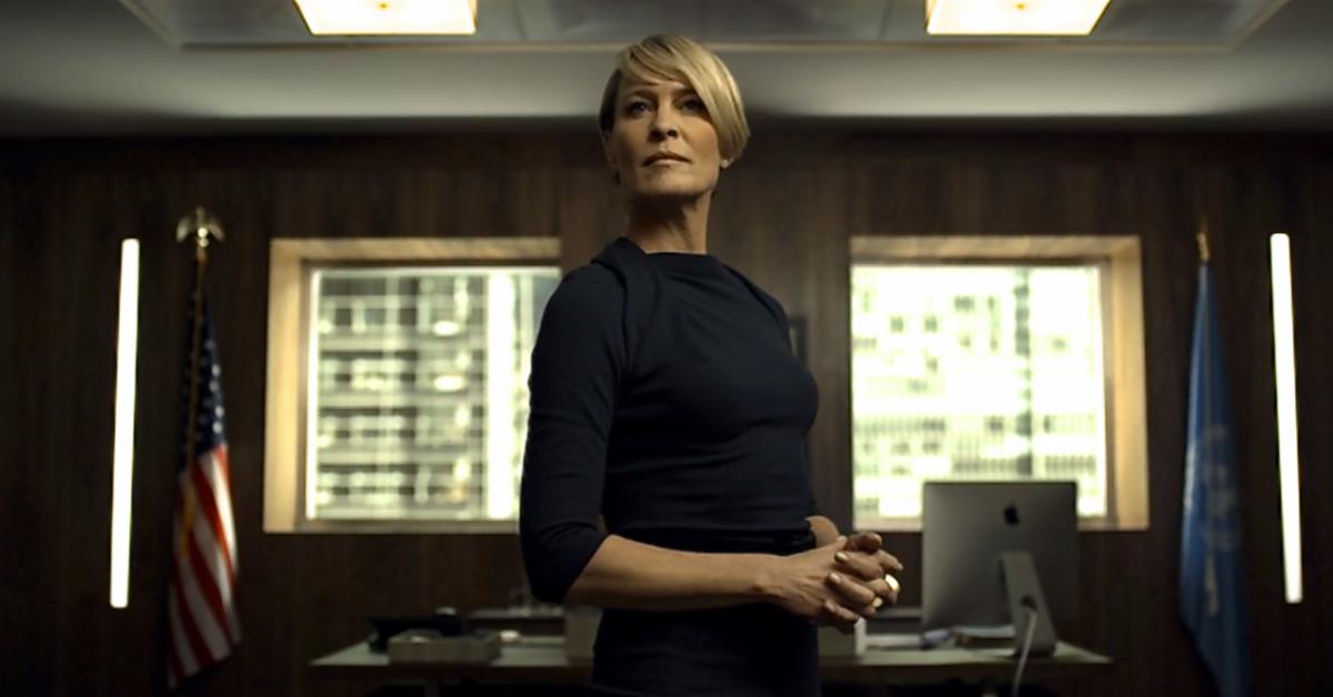 Claire Underwood, de 'House of Cards', un personaje interpretado por...
