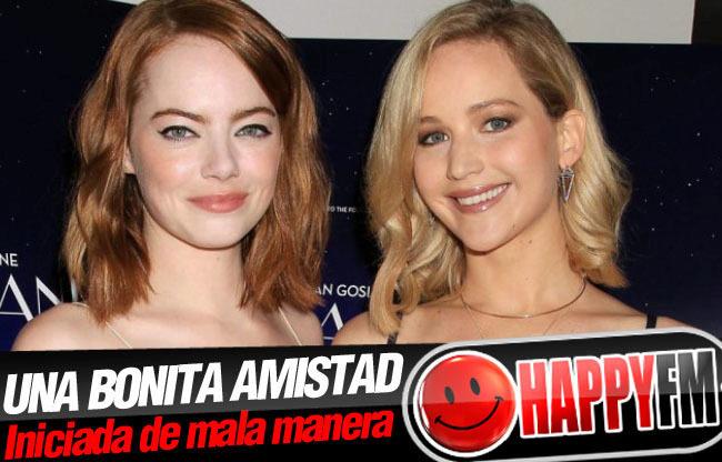 Jennifer Lawrence y Emma Stone se conocieron porque tenían un mismo acosador