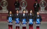 Número agraciado con el primer premio de la Lotería del Niño.