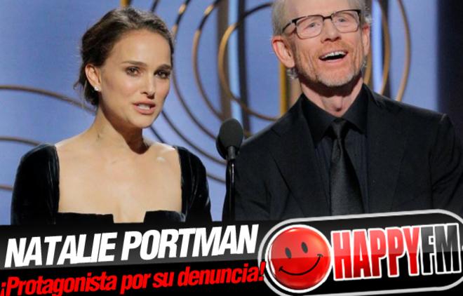 Natalie Portman sorprende al mundo con su denuncia perfecta en los Globos de Oro