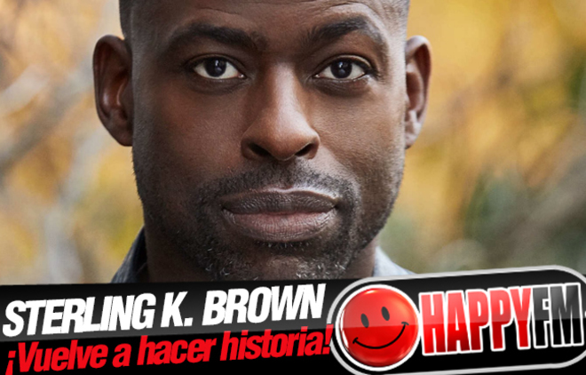 Sterling K. Brown ('This Is Us') vuelve a hacer historia en los Globos de Oro
