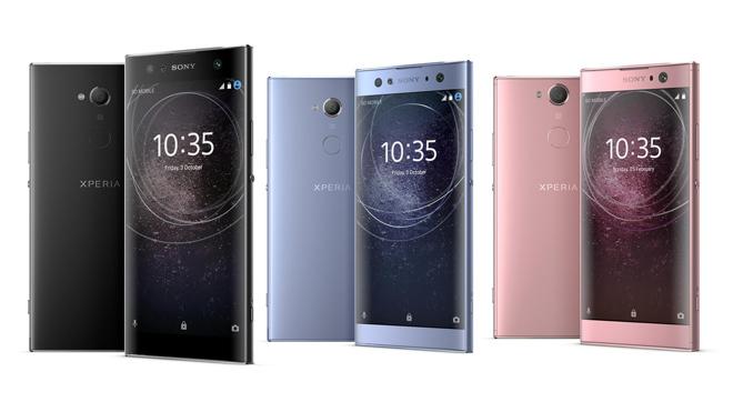 CES 2018: Sony apuesta por el selfie como gran característica de sus nuevos móviles