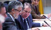 Gregorio Serrano, director general de Tráfico, ayer, en el Comité...