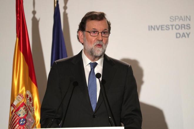 """Rajoy sitúa a Cataluña como """"única sombra"""" para la economía española"""