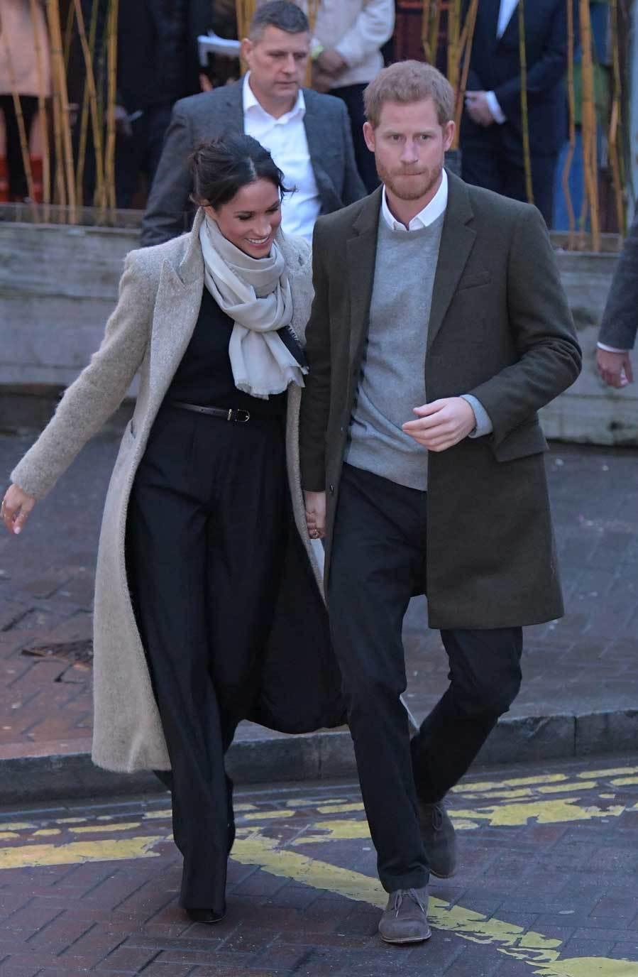 En su segundo acto oficial, en Brixton, la prometida del príncipe...