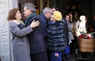 Artur Mas, en el funeral del ex conseller Antoni Subirà