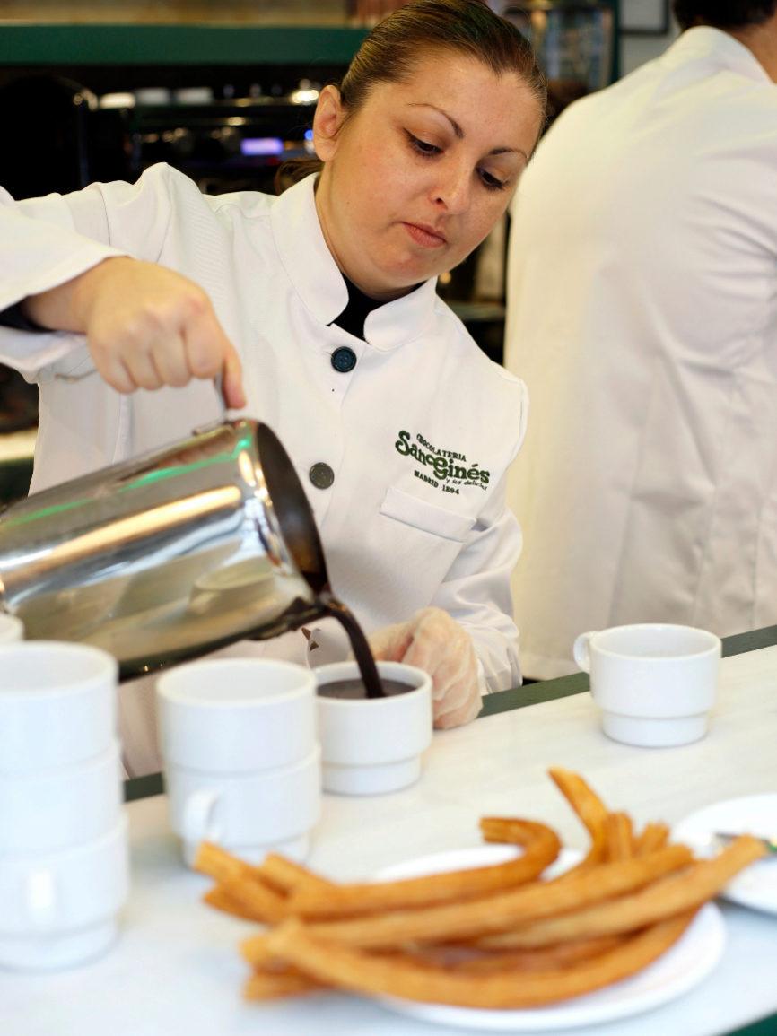 Una de las churrerías más famosas de España, con sedes en China,...