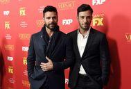 Ricky Martin y Jwan Yosef en la presentación de 'American Crime Story'.