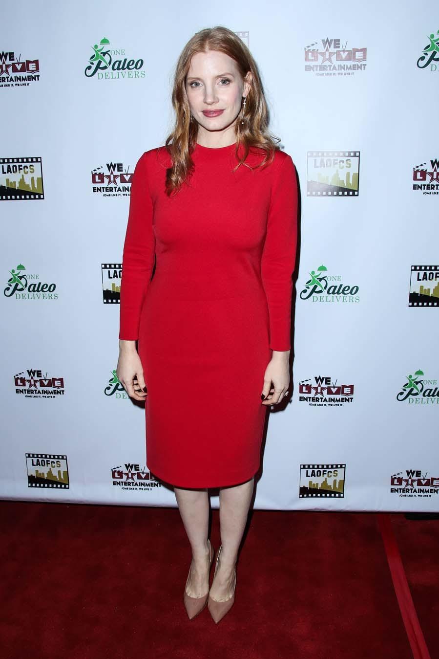 Jessica Chastain, en los premios Online Film Critics Society 2018.