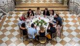 Los concursantes de 'MasterChef Celebrity 2', cenando en el Palacio...