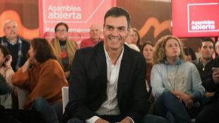 """Sánchez: """"Un presidente de Cataluña tiene que vivir en Cataluña"""""""