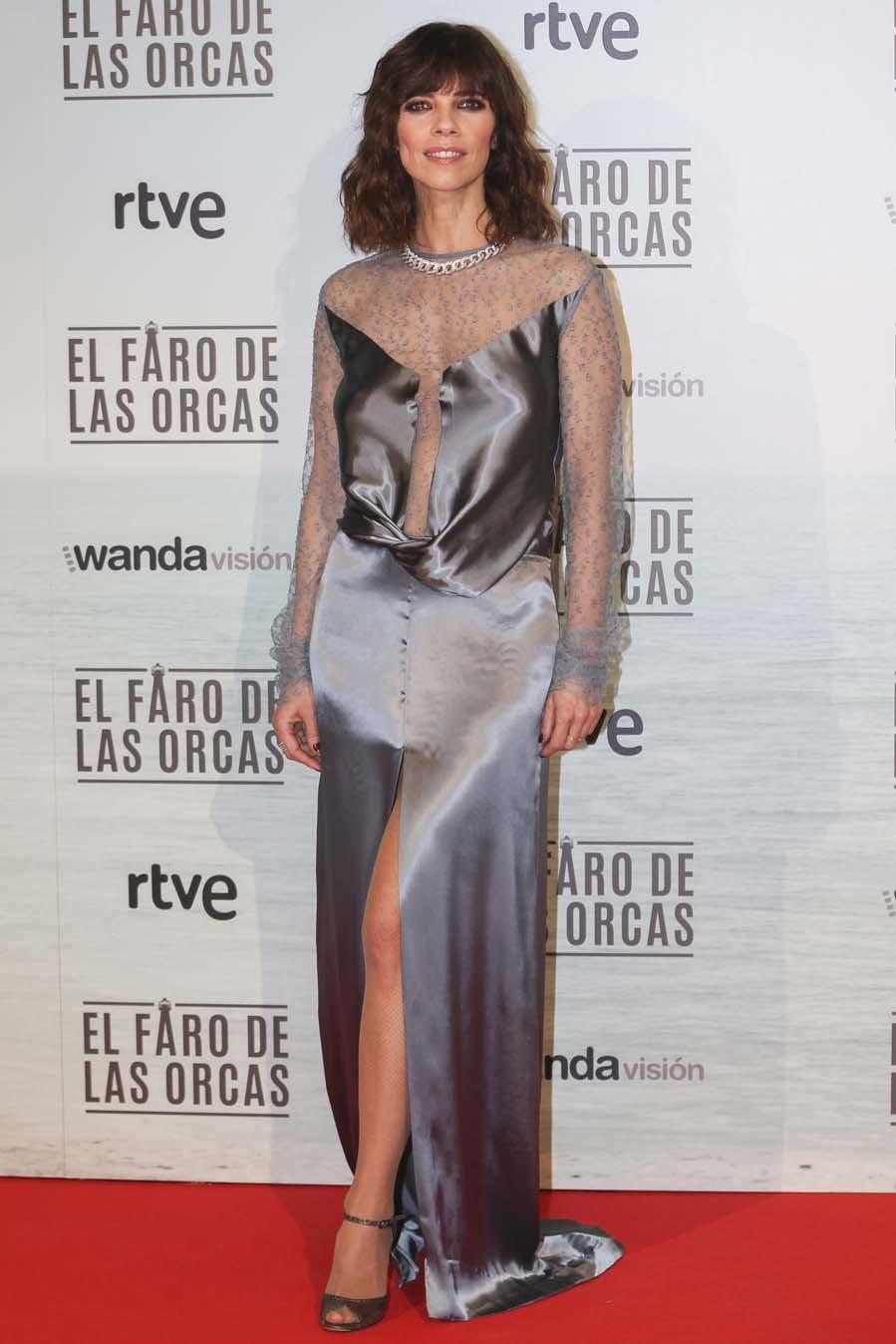 La actriz, nominada por su papel en No sé decir adiós, es una...