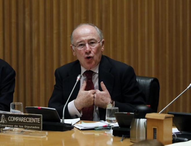 El ex presidente de Bankia y del FMI, Rodrigo Rato
